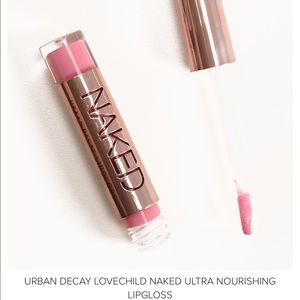 NEW Urban Decay Love Child Naked Ultra Lipgloss